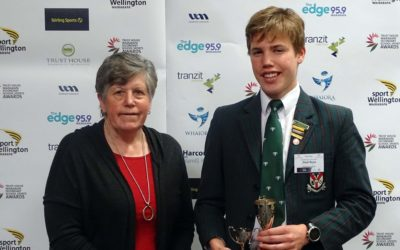 Noah Boyce Recipient of the Robert Algie Memorial Sport Trust Scholarship 2019